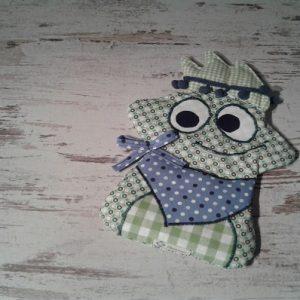 Körnerkissen Frosch